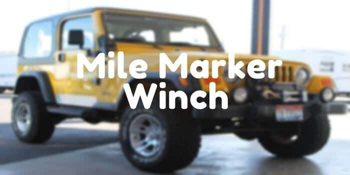 Mile Marker Winch Review