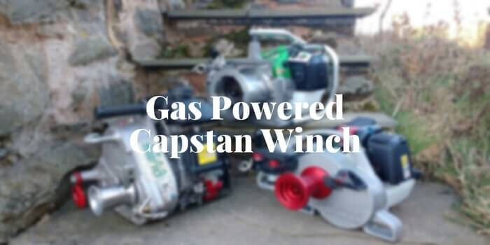 best portable gas powered capstan winch