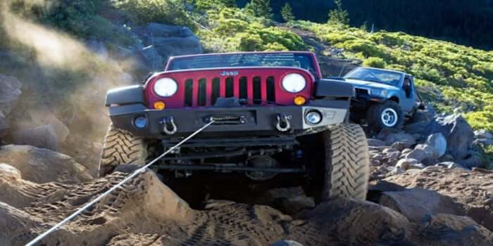 winch pulling power