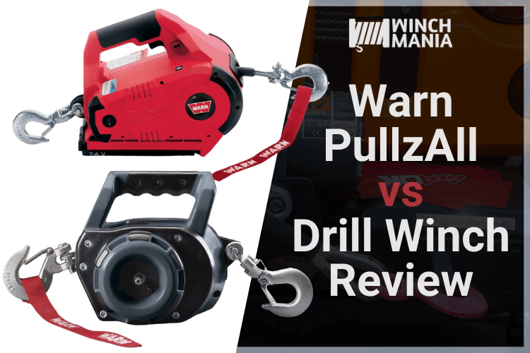 Warn PullzAll vs Drill Winch Review