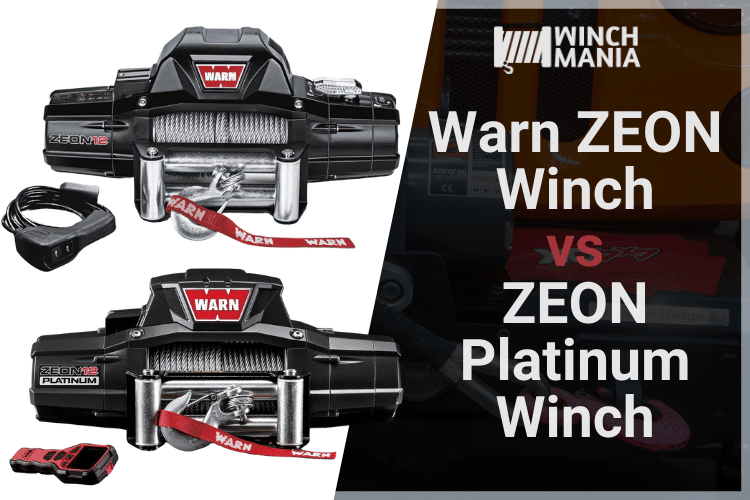 Warn ZEON vs ZEON Platinum Winch Review