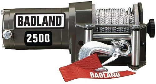 BADLAND ATV & Utility Electric Winch with Wireless Remote Control