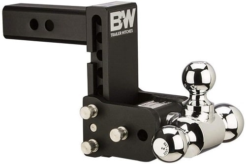 B&W TS10048B Tow and Stow Magnum Receiver