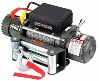 Badland Electric Winch with Automatic Brake 9000 lb