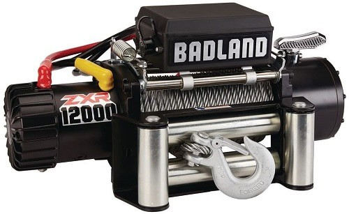 Badland ZXR Weather Resistant Off-Road Vehicle Electric Winch
