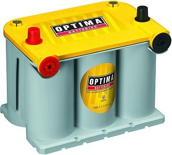 Optima Batteries 8042-218 D75/25 YellowTop Dual Purpose Battery