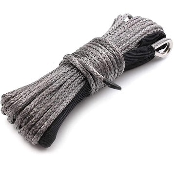 QH QH WURONG Synthetic Winch Rope with Sheath for ATVs Winches