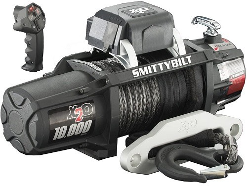 Smittybilt (98510) X2O Waterproof Synthetic Rope Winch