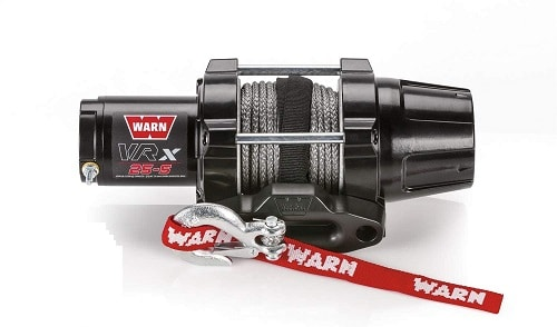 WARN 101020 VRX 25-S Powersports Winch with Handlebar Mounted Switch