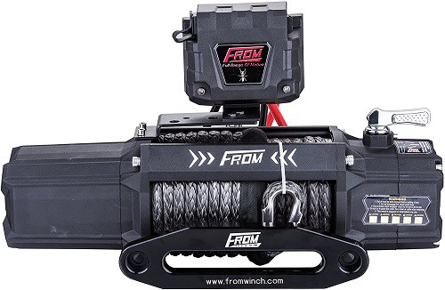 FROM ANT Series Electric Winch 12500lbs 6.0HP 12V Offroad Winch