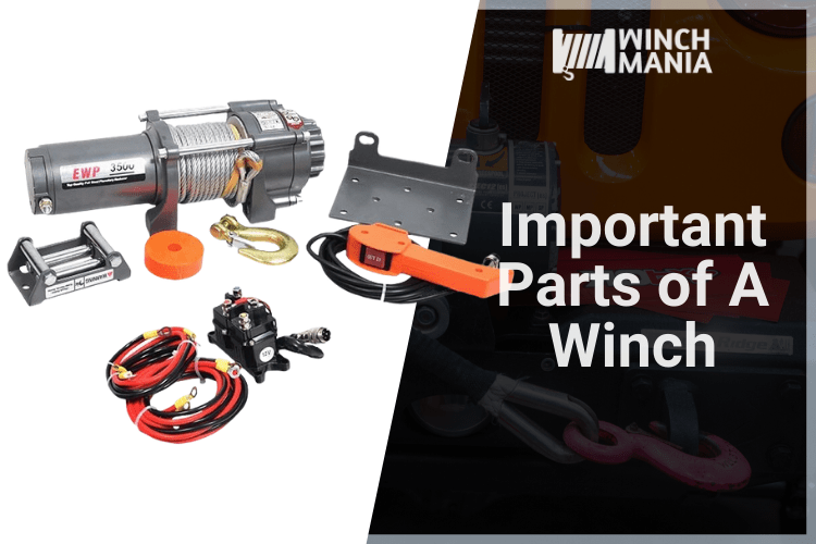 Important Parts of a Winch