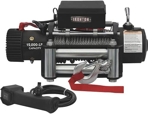 Ironton 12000 lb Electric Truck and Jeep Winch Review