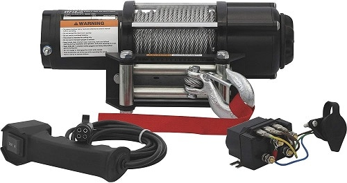 Ironton 5,000 lb Electric ATV Winch Review