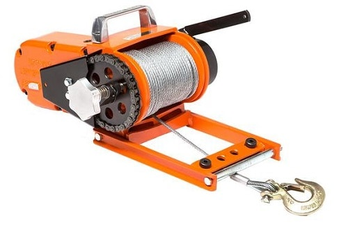 Lewis Chainsaw Winch Model 400