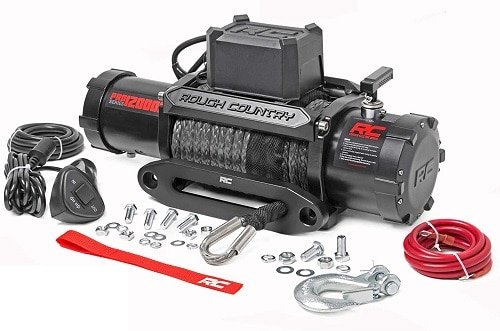 Rough Country 12,000 LB PRO Series Electric Winch