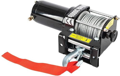 TRIBLE SIX 2500lbs DC 12V Electric Recovery Winch