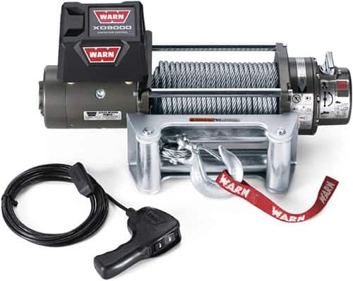 WARN 28500 XD9000 Series Electric 12V Winch