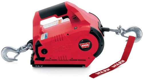 WARN 885005 PullzAll Cordless 24V DC Portable Electric Winch