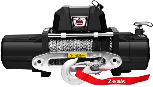 ZEAK 12000lb. Electric Truck Winch Synthetic Rope