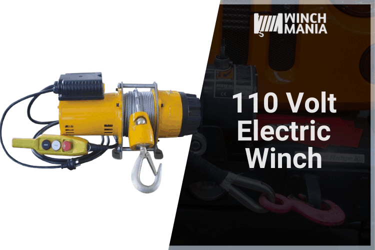 110 Volt Electric Winch