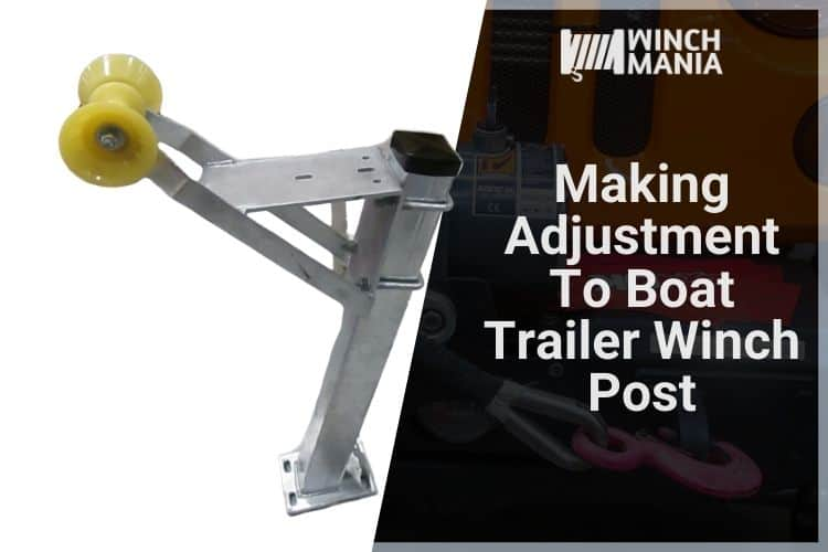 Boat Trailer Winch Post