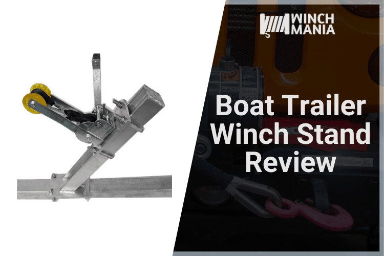 Boat Trailer Winch Stand Review