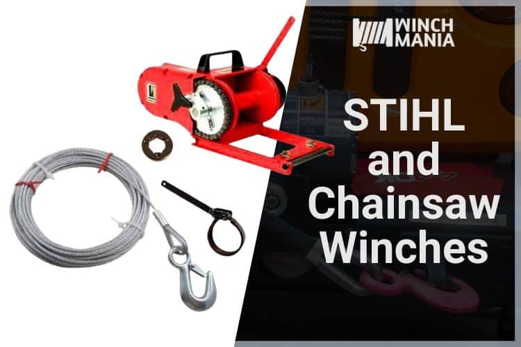 STIHL and Chainsaw Winches