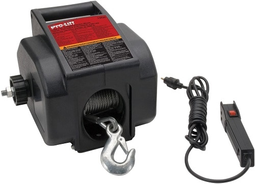 Pro-LifT I-9620 Grey Portable Electrical Winch