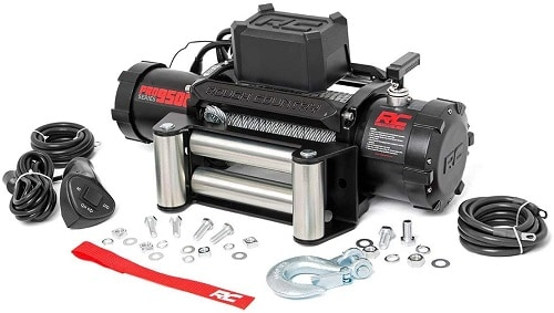 Rough Country 9,500 LB PRO Series Electric Winch