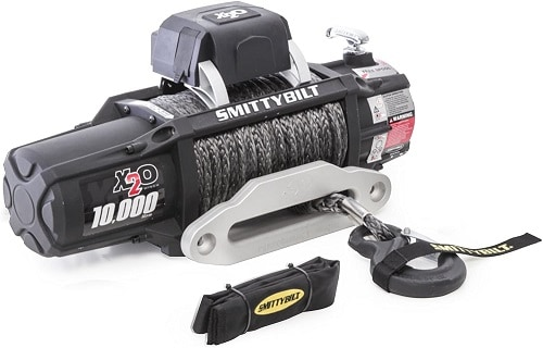 Smittybilt X2O COMP - Waterproof Synthetic Rope Winch