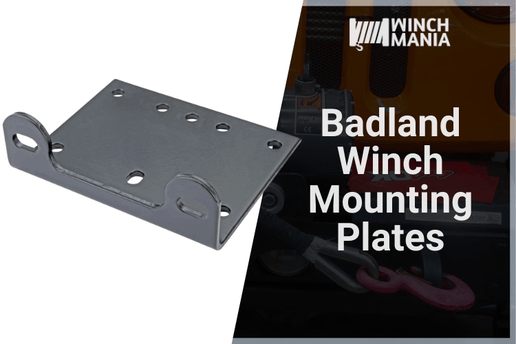 Badland Winch Mounting Plates