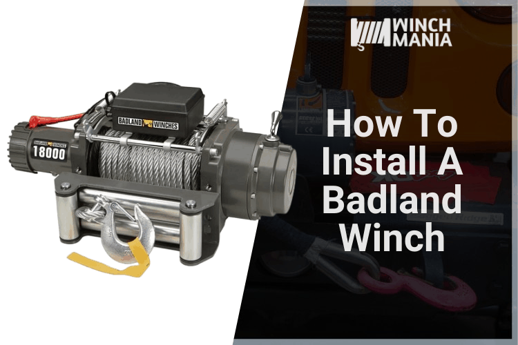 How To Install A Badland Winch