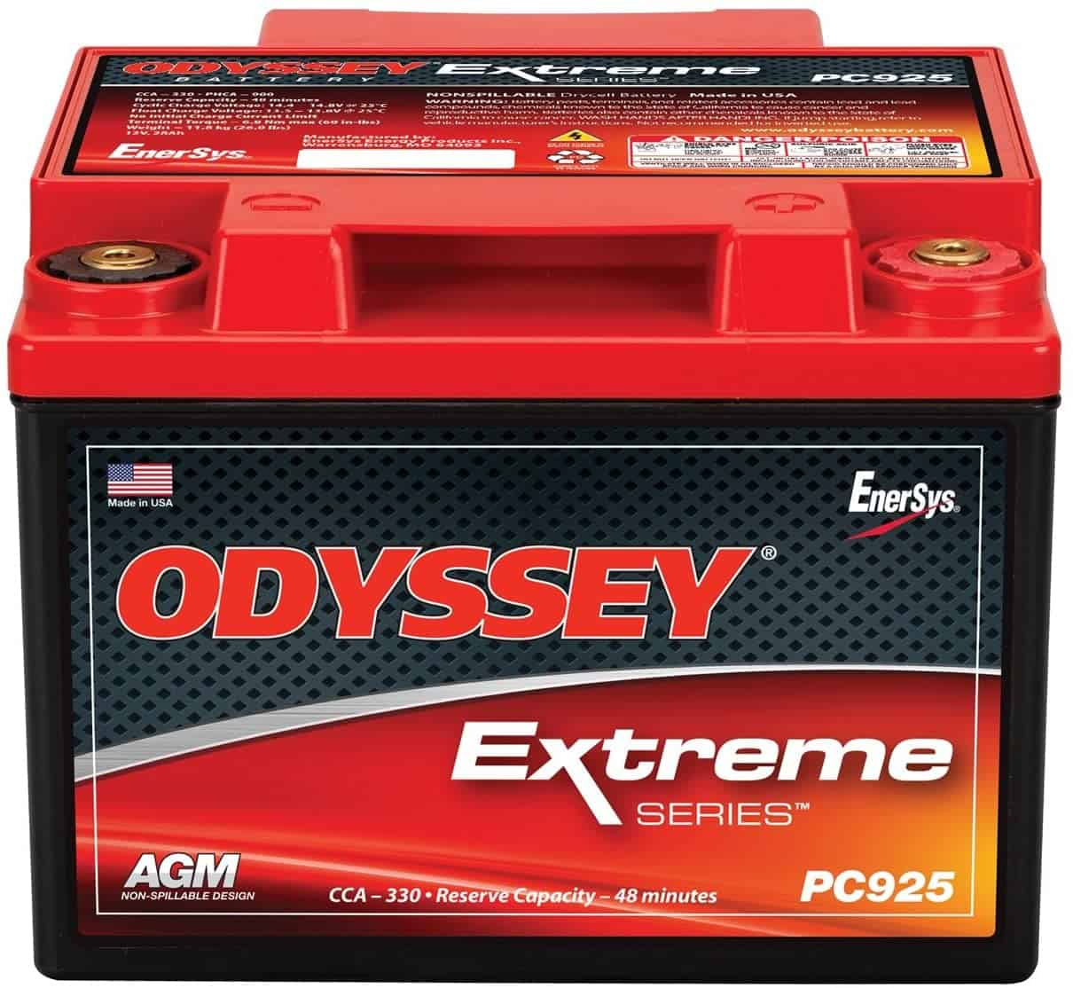 Odyssey PC925 Automotive and LTV Battery Review