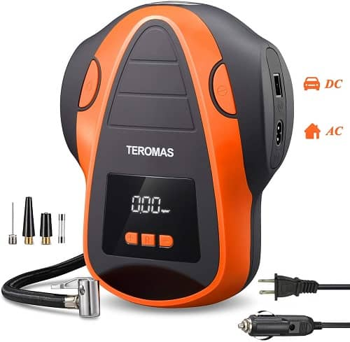 TEROMAS Tire Inflator Air Compressor Review