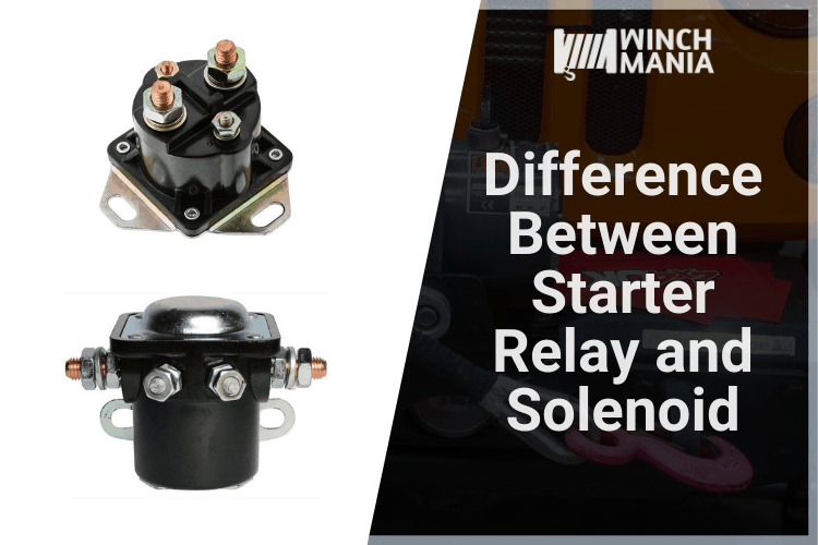 Difference Between Starter Relay and Solenoid