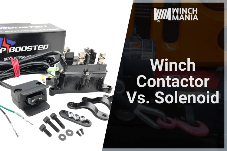 Winch Contactor Vs. Solenoid