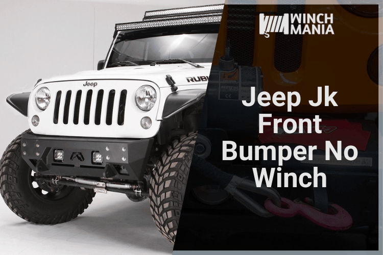 Jeep Jk Front Bumper No Winch