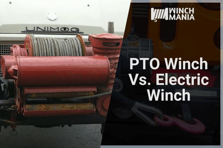 PTO Winch Vs. Electric Winch
