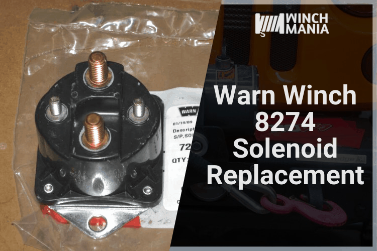 Warn Winch 8274 Solenoid Replacement